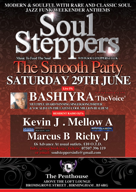 Soul Steppers Poster