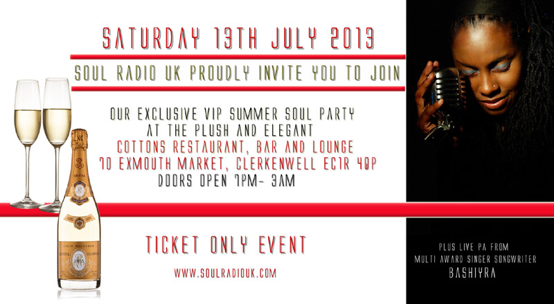 London - VIP Summer Soul Party
