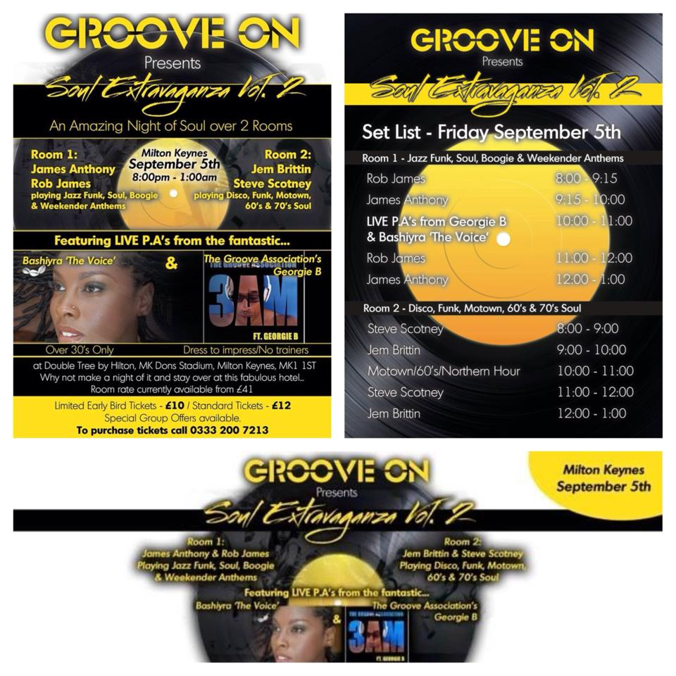 Sept 5th Groove On
